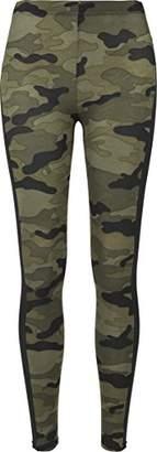 Urban Classics Ladies Camo Stripe, Leggings for Women,XXL
