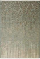 "Karastan Titanium Tiberio Seaglass 3'6"" x 5'6"" Area Rug"