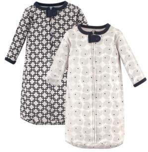 Hudson Baby Boys and Girls 2-Pack Long Sleeve Sleeping Bags