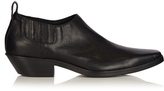 Haider Ackermann Square-toe leather boots