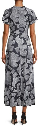 French Connection Remi Print Midi Dress