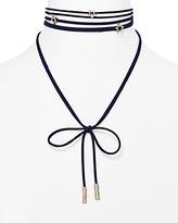 BaubleBar Star Velvet Lariat Choker Necklace, 12