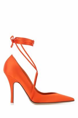 ATTICO Ruby Ankle Strap Pumps