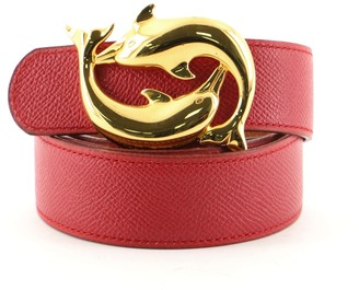 Hermes Dolphin Belt Leather Medium 75