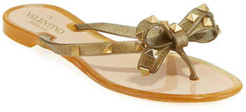 b9f97acc9 Valentino Bow Sandals - ShopStyle