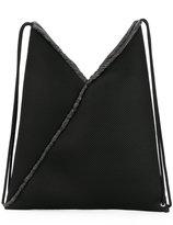 MM6 MAISON MARGIELA drawstring backpack - women - Cotton/Polyester - One Size