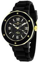 Oceanaut Acqua Womens Black Rubber Bracelet Watch Family