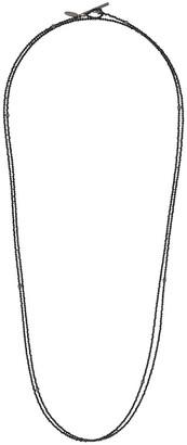 Brunello Cucinelli Beaded Pendant Chain Necklace