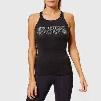 Superdry Sport Women's Active Fitted Vest
