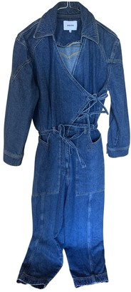 Nanushka Blue Denim - Jeans Jumpsuits