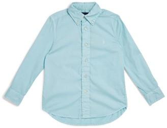 Ralph Lauren Kids Twill Long-Sleeved Shirt (5-7 Years)