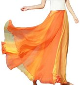 TopTie Giant Swing Full Circle Skirt, Flowing Maxi Skirt - ,XL