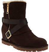 Marc Fisher As Is Suede Wedge Boots - Lynsie