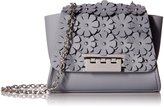Zac Posen Eartha Mini Chain Crossbody-Grey