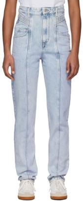 Etoile Isabel Marant Blue Henoya Jeans