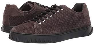 Salvatore Ferragamo Cube 19 Sneaker (Lead Grey Suede) Men's Shoes