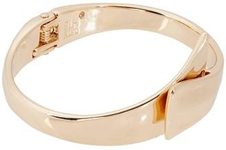 Robert Lee Morris Bypass Bracelet (Shiny Gold) Bracelet