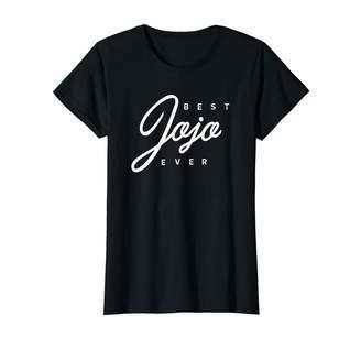 Jo-Jo Jojo Shirts Womens Jojo Shirt Gift: Best Jojo Ever T-Shirt