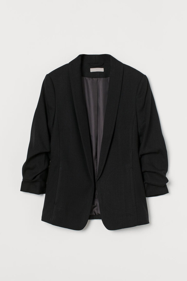 Thumbnail for your product : H&M Shawl-collar Jacket - Black