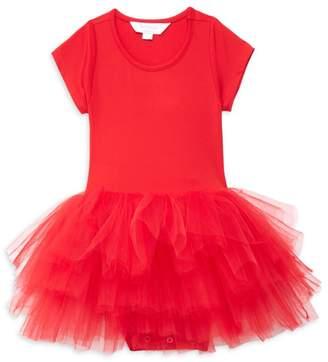 I Love Plum Baby's, Little Girl's & Girl's Short-Sleeve Tutu Dress