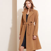 Ralph Lauren Wool-Cashmere Wrap Coat