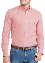 Chaps Big and Tall Checked Stretch Poplin Shirt