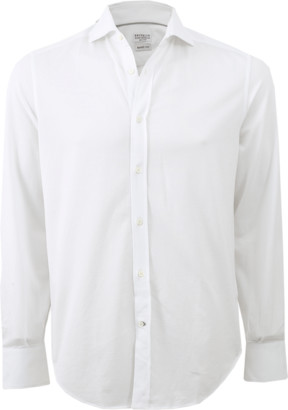 Brunello Cucinelli Cotton Knit Shirt