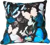 Graham & Brown Blue curio butterfly cushion