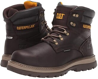 Caterpillar 6 Fairbanks WP (Mulch Full Grain Leather) Men's Work Boots