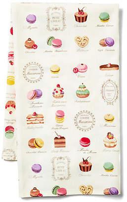 Maison Du Linge Macaron Tea Towel - Ecru