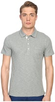 Billy Reid Short Sleeve Pensacola Polo Shirt Men's Short Sleeve Knit