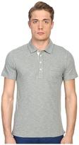 Billy Reid Short Sleeve Pensacola Polo Shirt Men's Short Sleeve Knit