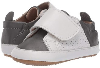 Old Soles Sport Lil Peezy (Infant/Toddler) (Grey/Snow) Boy's Shoes
