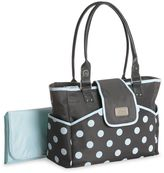 Carter's dotted diaper tote - blue