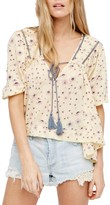 Free People Daisy Print Blouse