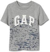 Gap Tropical logo slub tee