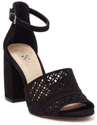 Vince Camuto Gidge Suede Block Heel Sandal