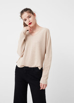 MANGO Metallic Sweater