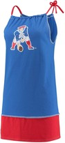 Unbranded Women's Refried Tees Royal New England Patriots Vintage Tank Dress
