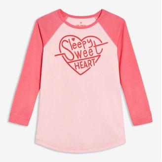Joe Fresh Kid Girls' Sleep Chemise, Pastel Pink (Size M)