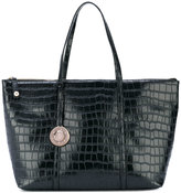 Versace textured tote bag - women - Polyester/Synthetic Resin - One Size