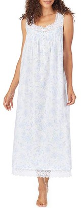 Eileen West Lotus Beauty Lawn Ballet Woven Nightgown