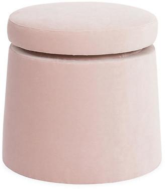 Kim Salmela Shiloh Swivel Stool - Pink