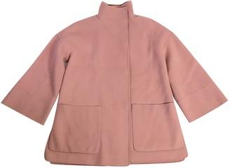 Iris von Arnim Pink Wool Jacket for Women