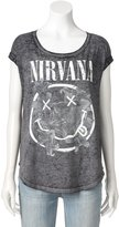 Rock & Republic Women's Nirvana Graphic Tee