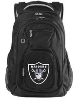 Oakland raiders 17-in. laptop backpack