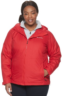Columbia Plus Size Ruby River Hooded 3-in-1 Systems Jacket