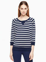 Kate Spade Modal terry bow cut out sweatshirt