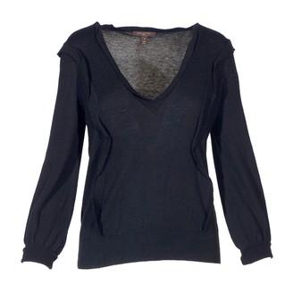 Louis Vuitton Black Cashmere Tops