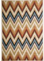 Christopher Knight Home Rosemary Zeta Indoor/Outdoor Multi Chevron Frieze Rug (8' x 10')